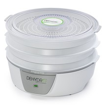 Food Dehydrator System 600Watt Fruits Vegetables Drying Trays Compact Se... - £44.85 GBP