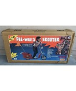 NEW 1988 Pee Wee's Herman Scooter Ride-on Matchbox Toy SEALED NEVER OPENED - $2,970.00