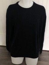New $88 The Men's Store Bloomingdale's Navy Blue Wool Sweater Size Large - $47.32