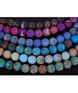Natural Matte Sea Sediment Jasper Gemstone Round Beads 15.5'' 4mm 6mm 8m... - $2.50+