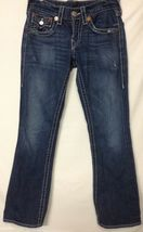 True Religion Billy Big T Womens 28 In Distressed Relax Straight Rn 1127... - $24.74