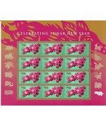 Exquisite USA 2019 Lunar New Year: Year of The Pig , Stamps MNH Free Shi... - $12.38