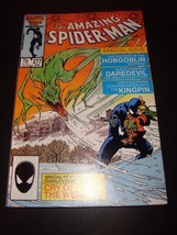 Amazing Spider-Man 277 Marvel Comic Book 1986 VF Condition Black Costume - $3.59