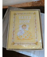 1973 Baby's Book C.R. Gibson 7 Years Yellow Dolli Tingle Design New Orig... - $19.97
