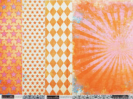 Teresa Collins Freestyle 7x10 Inch Project Kit, Paper Crafting #FR1615 image 5