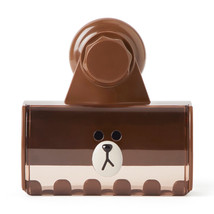 LINE FRIENDS Character BROWN Family Toothbrush Holder Official Goods - $19.79
