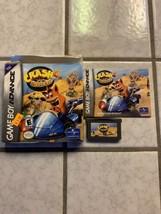 Crash Bandicoot Nitro Kart (Nintendo Game Boy Advance, 2003) GBA Box Manual - $15.00