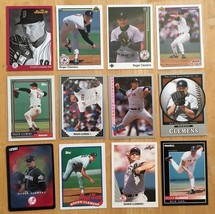Roger Clemens 12 Baseball Card Lot NM Condition Red Sox / Yankees Topps L6 - $2.69