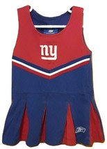 NY Giants Baby Infant 18 month Cheer Dress Reebok NFL Football Red/White... - $14.99