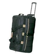 """30"""" Rolling Wheeled Duffel Bag  8391 Luggage Black  Wheels Duffelbag Travel - $29.60"""