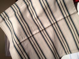 Pottery Barn Peninsula Stripe Pillow Cover Blue 20 sq Veranda Pin Stripe... - $18.08