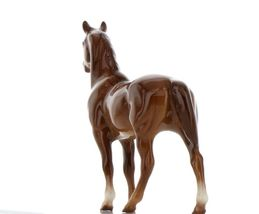 Hagen Renaker Miniature Horse Thoroughbred Race Swaps Ceramic Figurine Boxed image 5