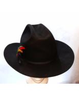 Stetson Vintage Cowboy Western Hat  4X Beaver Ranch Hat Black  Mens 7 1/... - $299.00