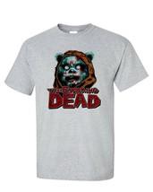 Ewoking Dead T-shirt The Walking Dead Star Wars Jedi gray blend graphic tee image 2