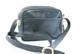 Christian Dior Leather Shoulder Bag Black Auth 7874 - $160.00