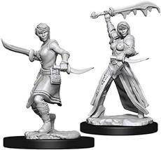 Nolzur's Marvelous Miniatures Wizkids - D&D Human Female Rogue - WZK73831 - $6.68