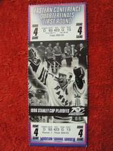 NY Rangers 1996 Stanley Cup Playoffs Quarterfinals 1st Round Game 4 Ticket Stub - $8.90
