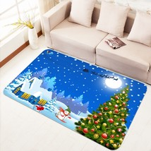3D Christmas Xmas 00 Non Slip Rug Mat Room Mat Quality Elegant Carpet AU Carly - $65.06+