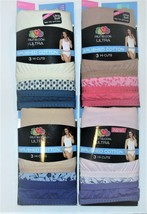 Fruit of the Loom Ultra Womens 3pk Hi Cuts Various Colors Sizes 7, 8 or ... - $12.99