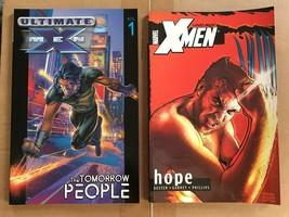 Uncanny X-Men Hope & Ultimate X-Men Tomorrow People Marvel Comic Book VF - $9.09