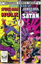 Marvel Team-Up Comic Book #126 Spider-Man And Hulk 1983 Very FINE/NEAR Mint - $3.75