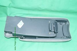 06-11 Honda Civic Sliding Armrest Arm Rest Center Console Lid Cover Fabric Gray image 5