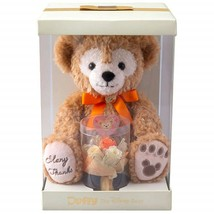 Tokyo Disney Sea 2019 Duffy Plush Toy with Preserved Flower Gift Orange NEW - $148.97