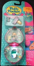 Vintage Polly Pocket Bath time Fun Ring NEW SEALED MOC 1994 Pink Heart C... - $158.39