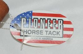 Pioneer Horse Tack 3577 Rolled Leather Roping Rein light Tan Color image 3