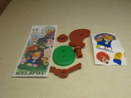 Kinder - 1999 Igelspiel + paper + sticker - surprise egg - $1.50