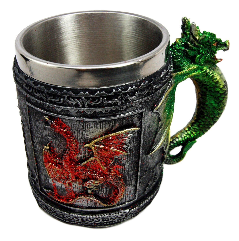White Unicorn Drinking Tankard Tribal Coffee Cup Mug by Things2Die4