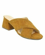 Chase & Chloe, Tan Stud-Accent Butter Sandal - $14.00