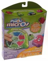 Pixos Micros Intro Set Mini Beads Dispenser Molds Bottle Dish Ladybug Ch... - $15.99