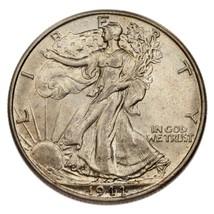 1944 Argent Marche Liberty Demi Dollar 50C (Choix Bu État) - $44.25