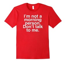 New Shirts - I'm not a morning person t-shirt - Funny Shirts for her - G... - $19.95+