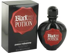 Paco Rabanne Black Xs Potion Perfume 2.7 Oz Eau De Toilette Spray image 6