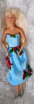 "1999 Mattel Barbie 11 1/2"" doll - Knees Bend Articulated Elbows Handmade... - $8.59"