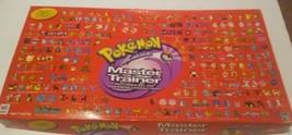 Pokemon Master Trainer Board Game 2001 Gold & Silver Edition 99%+ Complete  - $128.69