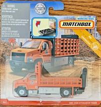 Matchbox 2019 Working Rigs MBX Construction GMC 3500 Truck #GBK02 1:64 S... - $9.89