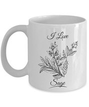 I Love Sage Leaves Spice Home Food Cooking Essentials Coffee & Tea Gift ... - $13.71