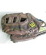 """Wilson OG2 Optima Gold 13.5"""" Baseball Softball Glove Left Hand Throw - $48.46"""