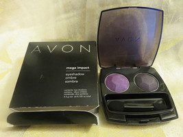 Avon Eye Shadow Violet Voltage Rare Retired Free Shipping - $3.99
