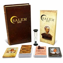 Salem 1692 Board Game - Witch Hunt Game for Friends and Family - 3rd Edition - A - $39.72