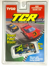 1992 Tyco Tcr Pickup Truck Slotless Car Rare Blue #8 Nissan 6429 Sealed Card A+ - $89.09