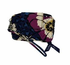 Women's Vera Bradley African Violet Zip Around Wallet EUC - $19.77