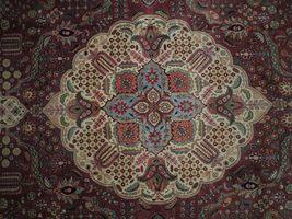 Compex Design Original Red Traditional Persian Wool Handmade Rug 10x16 Rug image 6