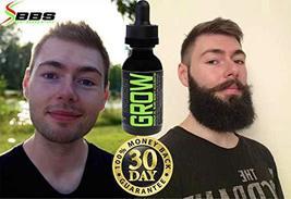 GROW Maximum XXL Beard Growth & Mustache Accelerator - #1 Formula Serum Oil Worl image 4