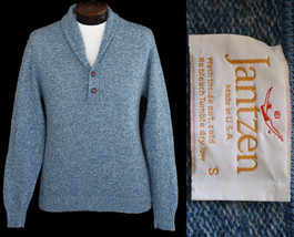 Vintage 80s Shawl Collar Janzten Pullover Sweater Size Small to Medium - $59.99