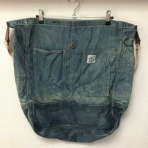 DOUBLE RL RRL RALPH LAUREN Denim Jeans Shoulder Bag Vintage Processing C... - $393.00