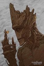 "GROOT by RANDY ORTIZ Mondo 24""x36"" Movie Poster Print 270/300 2014 Marvel Guardi - $342.99"